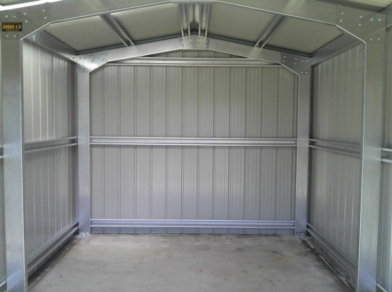 Golf cart shed or garage park the cart in style steel for Easy entry cart plans