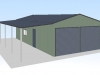 6x12x3-double-garage-shed-price-guide-3d