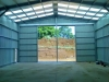 Sliding doors on Farm shed