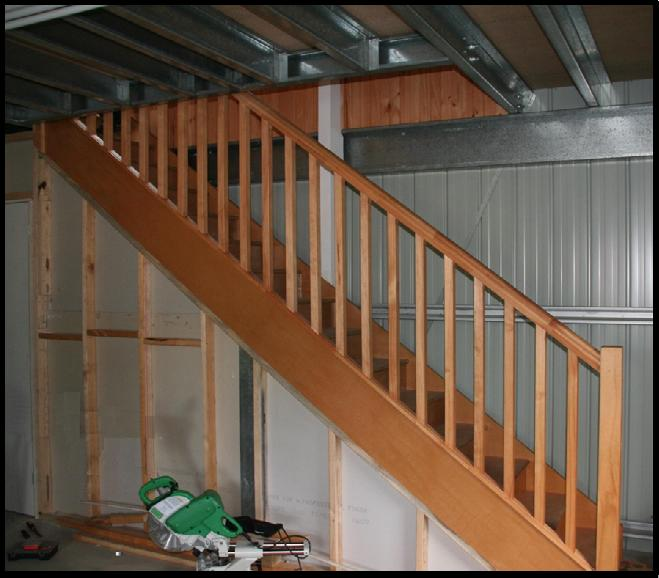 how to build a mezzanine floor in a shed