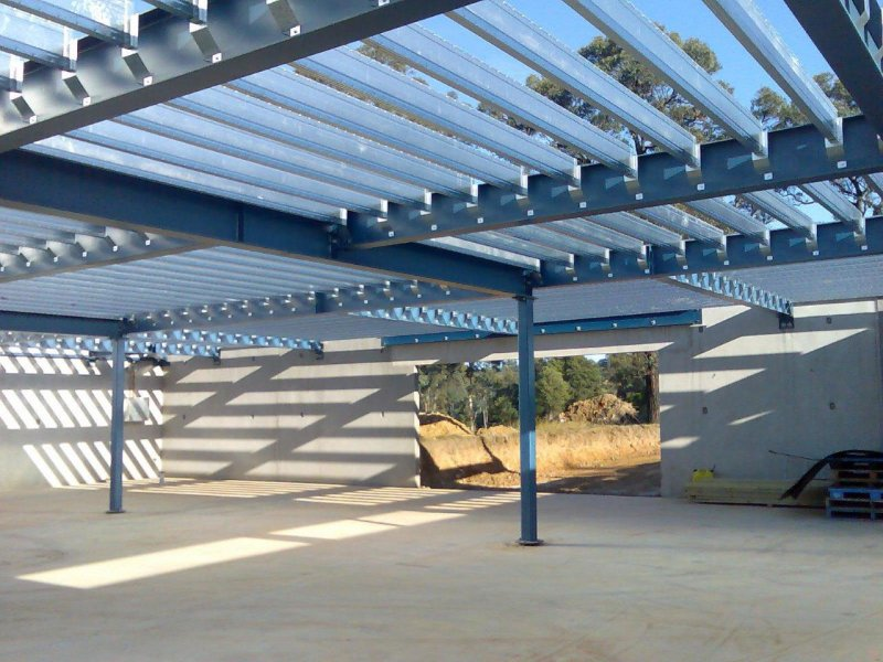 Mezzanine Floors Expand Your Floorspace Steel Sheds In