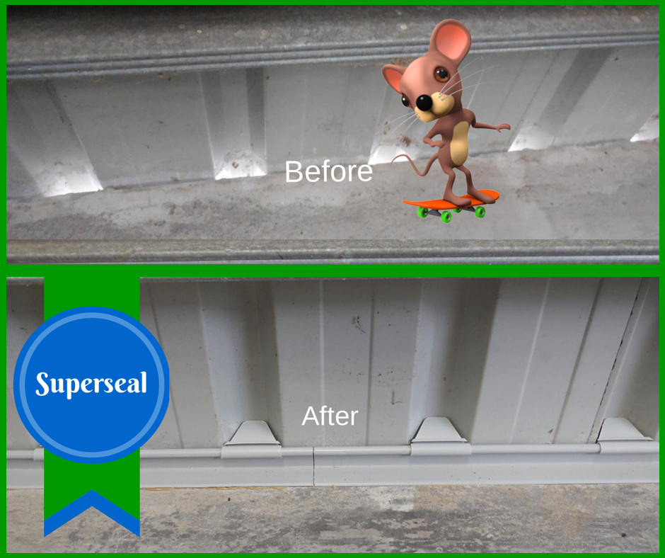 Buy Retroseal Superseal Retrofit Vermin Seal To Your Shed