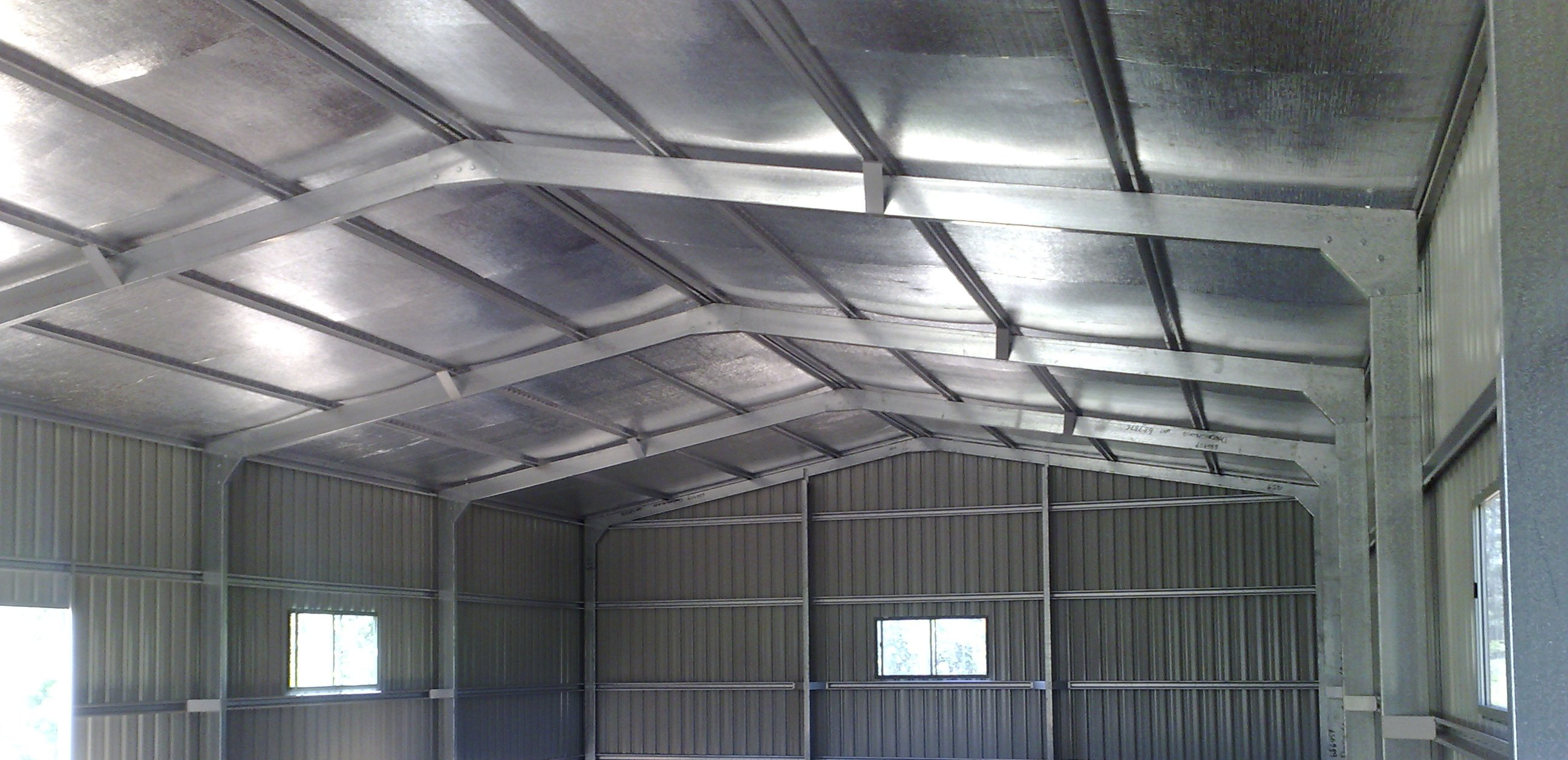 Insulating Your Shed & Retrofitting Shed Insulation. | Steel Sheds in Australia
