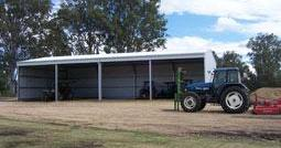 Farm shed open fronted hobby farm finance
