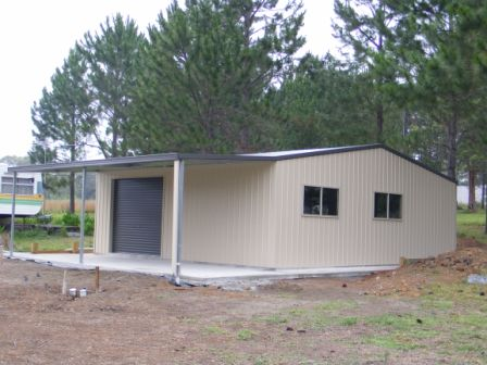 Steel Sheds And Living In Temporary Dwellings