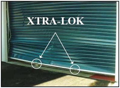 Must Have Roller Door Security Xtra Lok For Extra Security