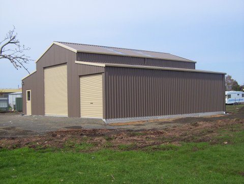 American barn or an aussie barn which shed do you need for American home metal buildings