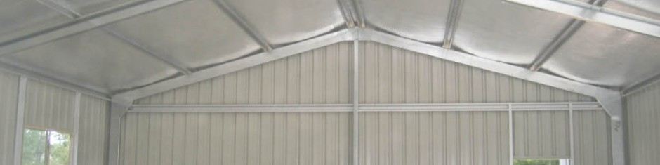 air-cell insulation in shed install buy 13