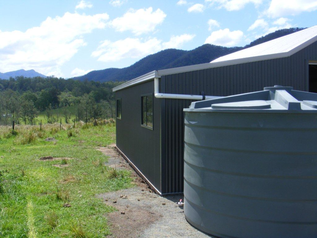 Can i use my shed as a dwelling steel sheds in australia for Building a barn to live in