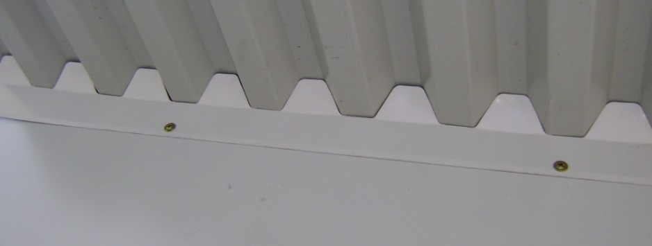 eaveseal with spandek sheeting ember seal 2