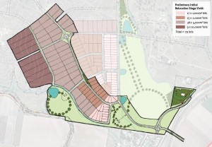 Grantham master plan first 1st stage plan