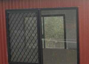 Window with a Barrier Screen
