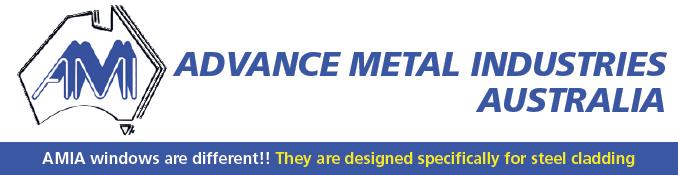 amia advance metal industies Australia aluminium windows shed garage