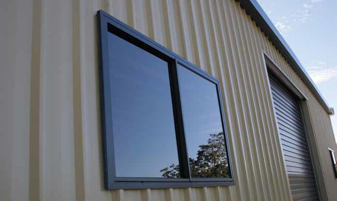 Windows For Sheds Steel Sheds In Australia