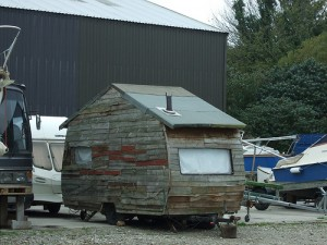 caravan shed van rv recreational vehicle