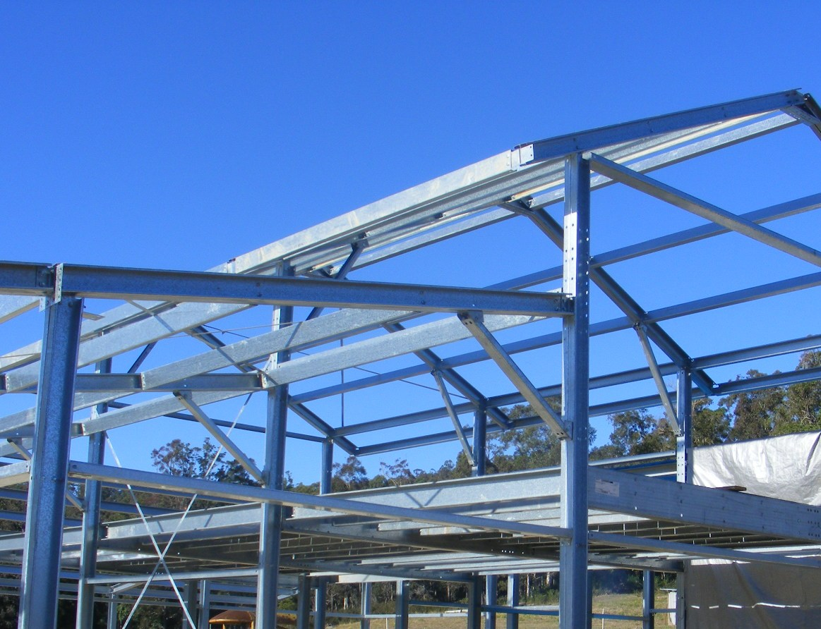 Zed Z Amp Cee C Shed Purlins Bluescope Lysaght Portal Steel
