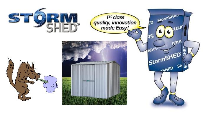 buy garden shed stormshed from shedblog best prices cyclone proof shed