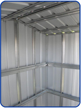 StormSHED – The Cyclone proof Garden Shed   Steel Sheds in