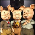 the three pigs bought a storm shed