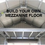 build steel shed mezzanine floor