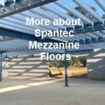 spantec shed garage mezzanine floor systems