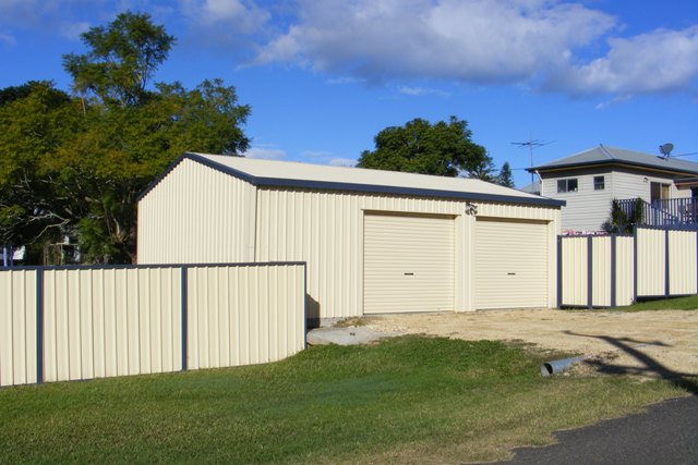 Colorbond Shed 104 Web Size Steel Sheds In Australia