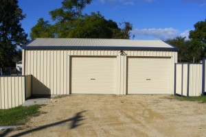 Another Ranbuild Shed with a pair of Rollmasta Roller Doors