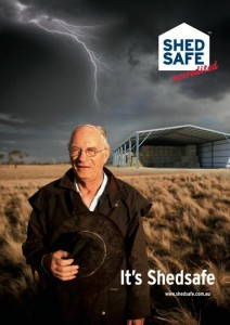 is it a shedsafe accredited shed safe sheds