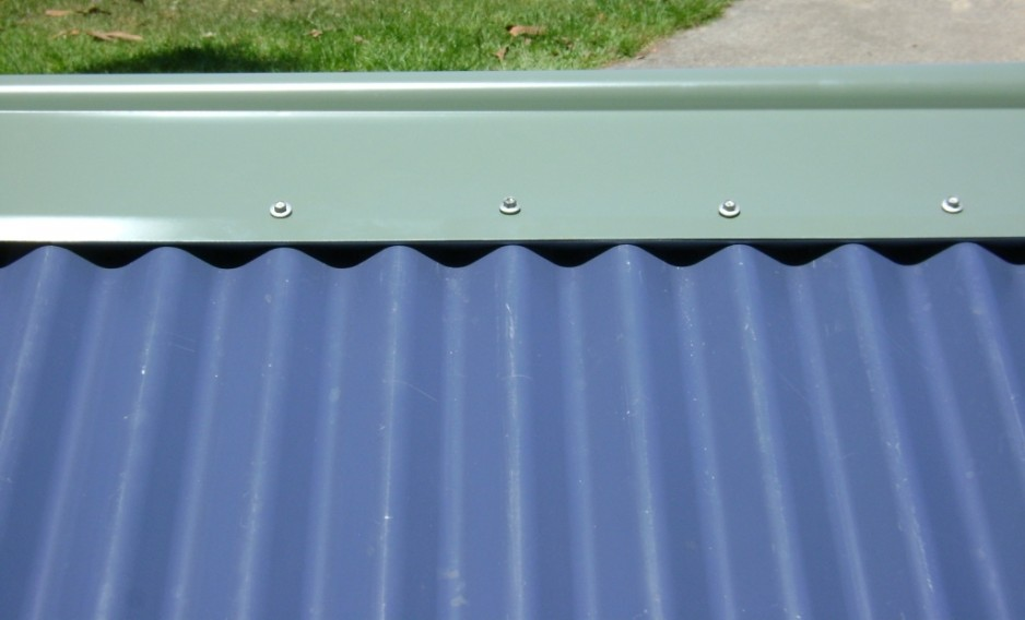 Bobbs Shed Roof Vent Flashing