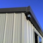 shed-corner-flashing-barge-gutter-downpipe