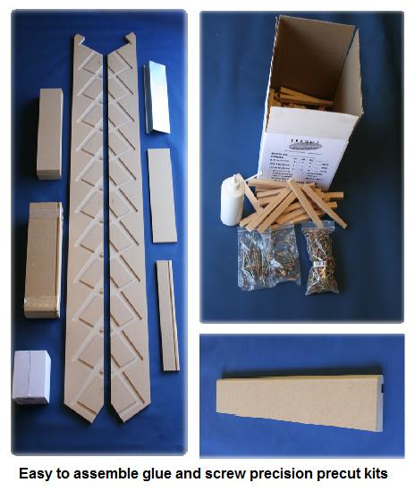 shed stairs material kits