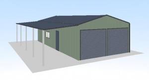get a quote 6x12x3-double-garage-shed-price-guide-3d