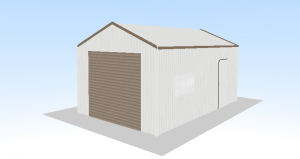 steel shed single garage 6 x 4 x 2.7 price