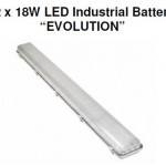 Evolution twin LED tube industrial batten