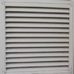 Fixed lourvre Larnec Sentry Vents for Sheds Garages Industrial and Commercial buildings