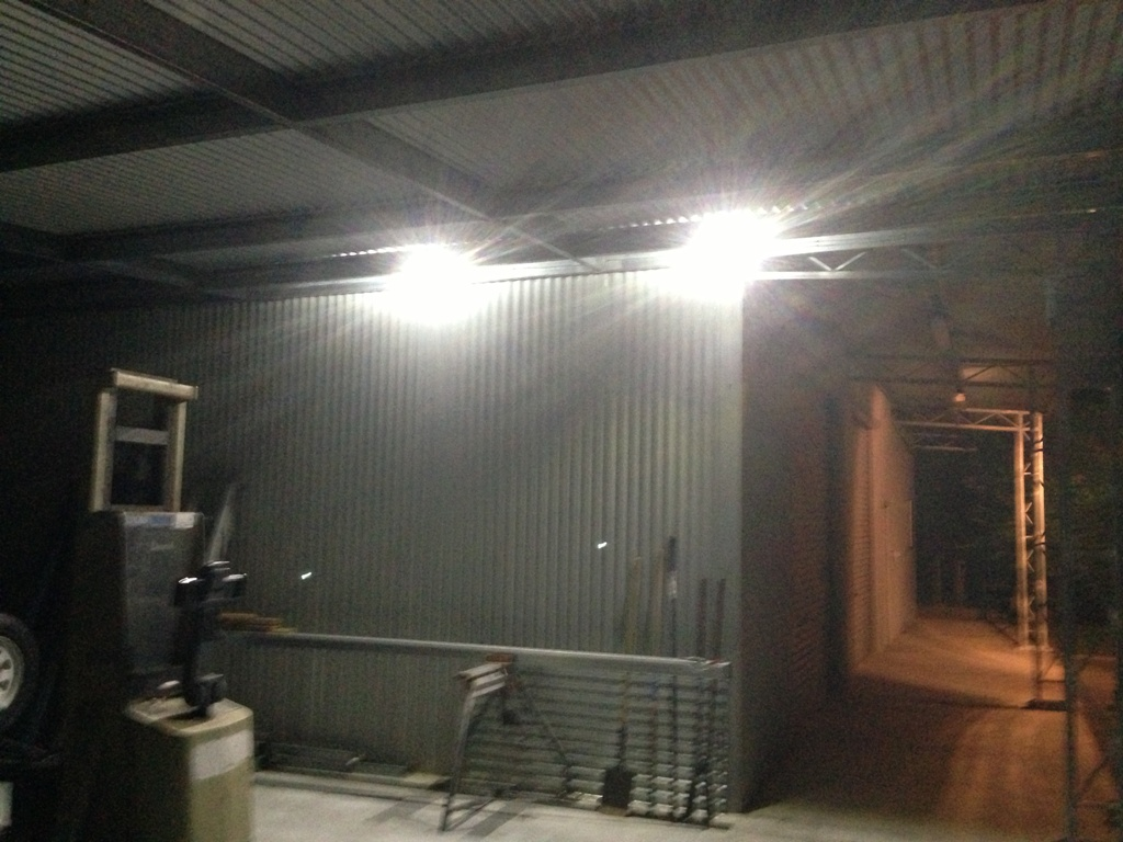 solar powered shed lighting solution for sheds garages steel sheds