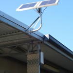 Solar powered shed light by Roc-Solid