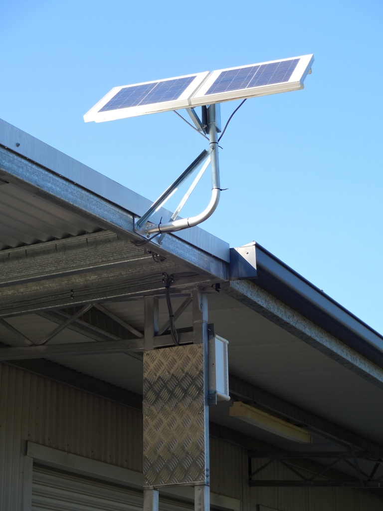 Solar Powered Shed Light Kits for Sheds, Garages & Workshops | Steel ...