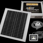 The solar shed light kit panels lamp control box.