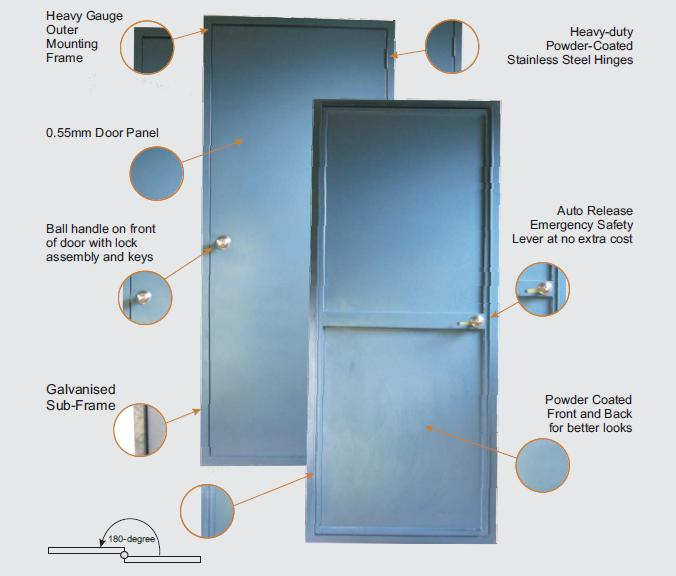 Buy Pa Doors Premium Personal Access Door For Sheds