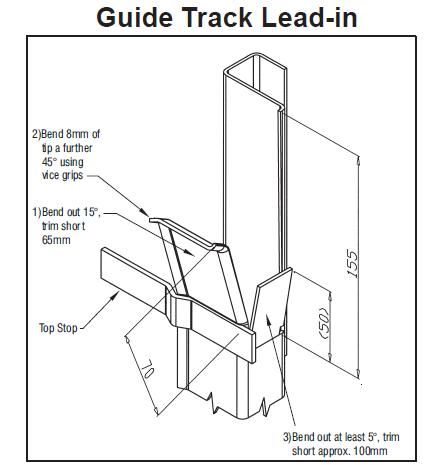 Series B Roller Door Installation Instructions