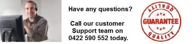 Need help, call our customer support for Roller doors 1800 652 001 or 0422 590 552