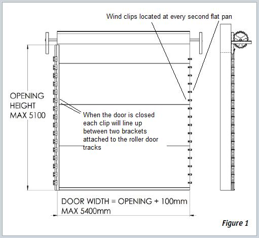 Buy Windlocked Roller Doors For Cyclone And High Wind