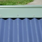 Ridgeseal used on Colorbond Roofing with standard roll top ridge capping BAL seal AS 3959