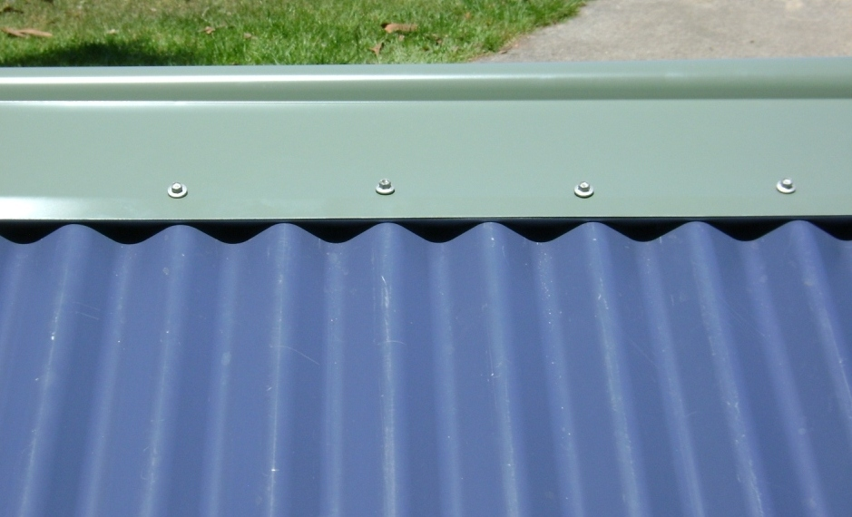 Hip Valley and Ridge Ember Seal – Metal Profile Flashings for Colorbond Roofing