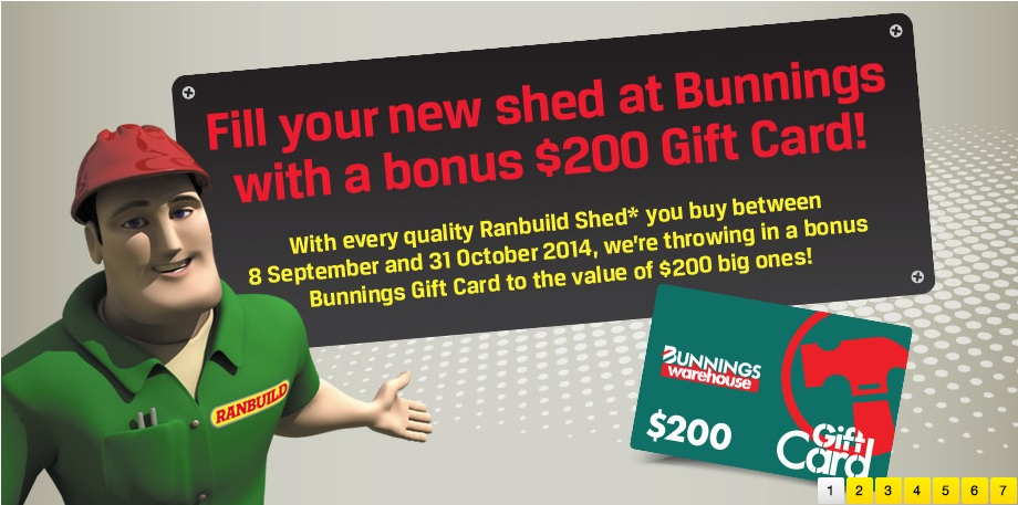 ranbuild $200 gift card special offer