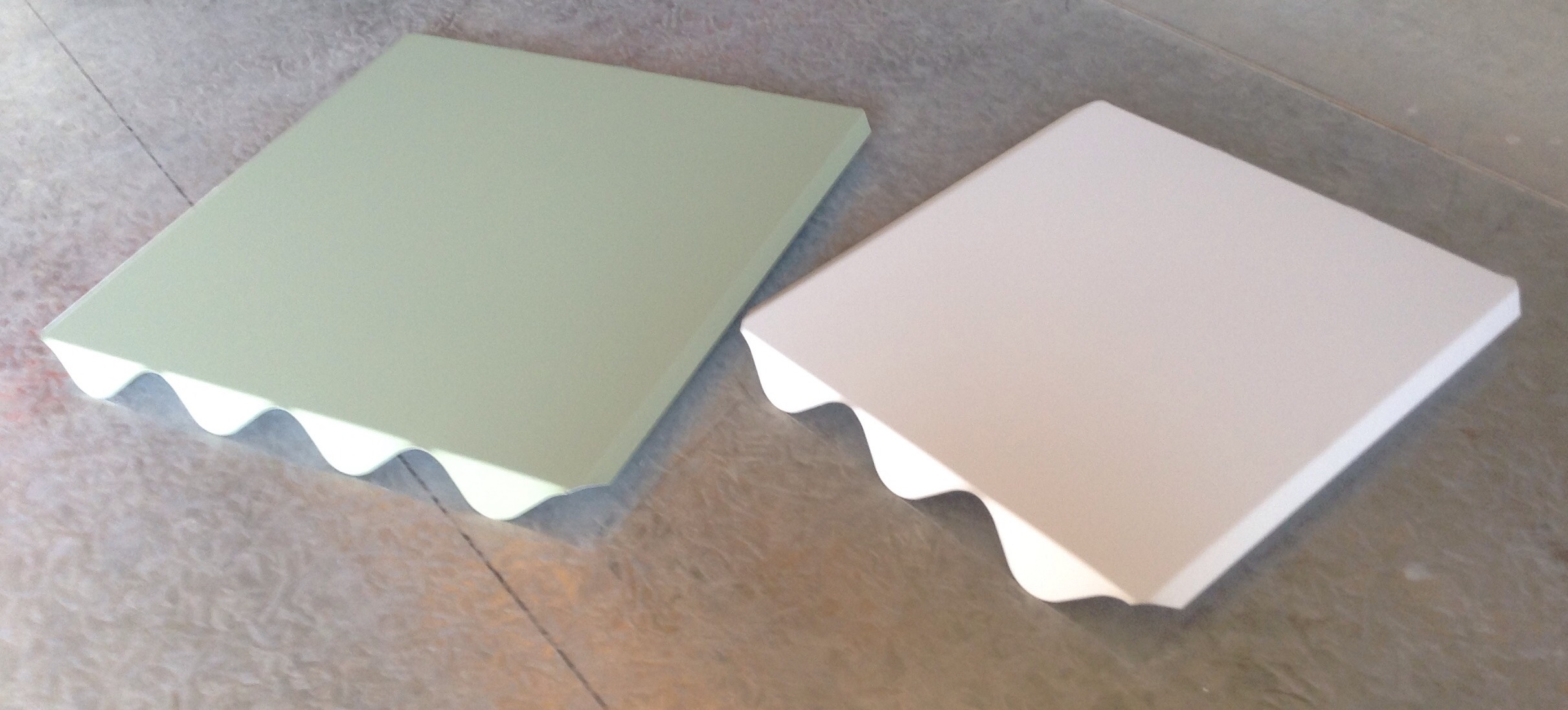 Mount Plates In Profile For Corrugated Custom Orb Steel