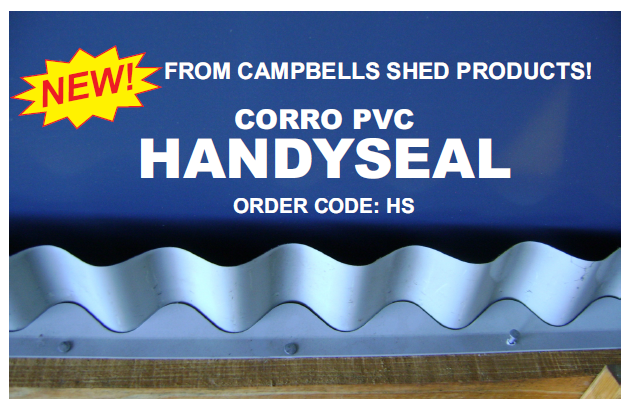Handyseal – A Handy PVC Seal for Corro or Custom Orb Roofs and Walls