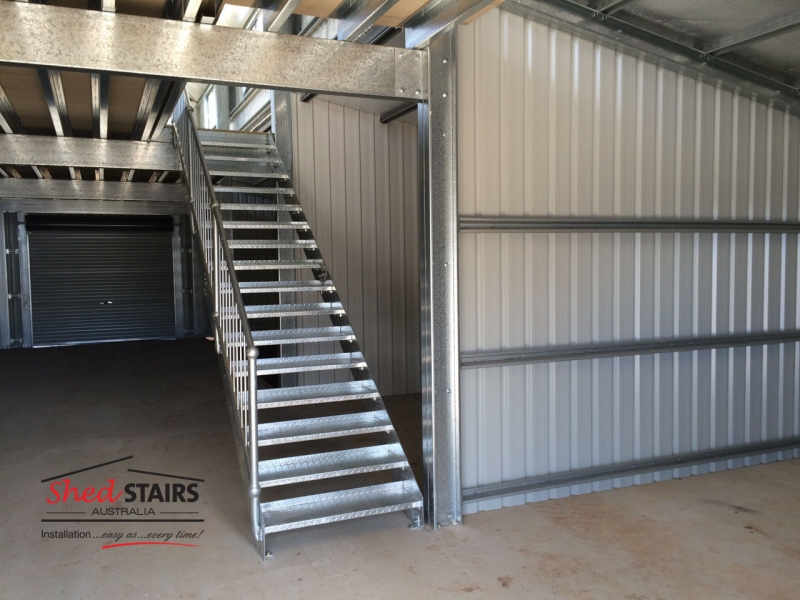 gal stair steel staircase kit
