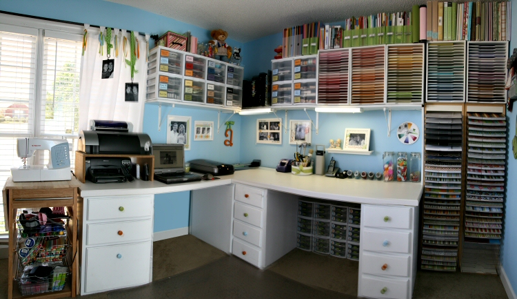How To Turn Your Old Garage Into A Beautiful Craft Room In 6 Steps